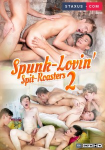 Spunk-Lovin' Spit-Roasters 2 DVDR