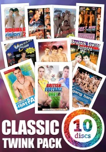 Classic Twink 10DVD PACK (NC)