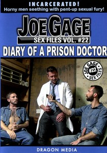 Joe Gage Sex Files vol. #22 Diary of a Prison Doctor DVD (disc only)