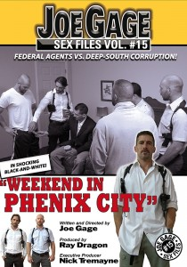 Joe Gage Sex Files vol. #15 Weekend in Phenix City DVD (S)