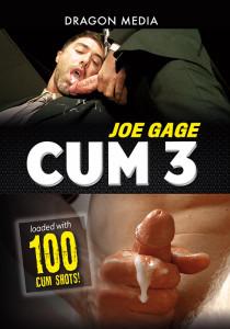 Joe Gage Cum 3 DVD