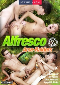 Alfresco Arse-Raiders DVDR (NC)