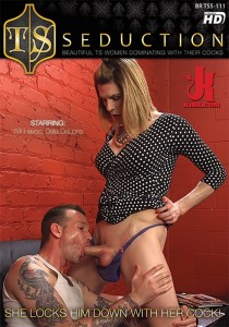 TSS111: She Locks Him Down With Her Cock! DVD (S)
